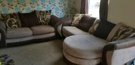 Dfs 3 seater and 2 seater sofas