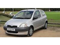 TOYOTA YARIS 1.0L 78000 MILES 12 MONTH MOT HPI CLEAR IDEAL FIRST CAR