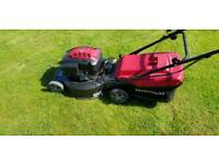 "Mountfield self propelled 21"" petrol more electric start"