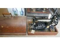 Vintage Singer Sewing machine x4