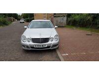 2009 Mercedes-Benz E Class 2.1 E220 CDI Avantgarde 4dr Auto+Diesel+Black+Leather+Seat @07445775115