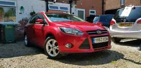2013 Ford Focus 1.6 tdci eco zero road tax 1 owner full-service history hpi clear