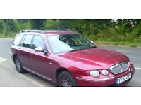 For sale is my Rover 75 Tourer. Top of the range 2.5 V6 Full leather Interior Red