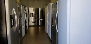 VERY GOOD QUALITY FRIDGES WITH 6 MONTHS WARRANTY, FREE DELIVERY & REMOVAL OF YOUR OLD FRIDGE. Call Now:587-894-4977