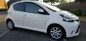 2013(63)Toyota Aygo 28000 Miles White 5 Door 12 Months MOT ZERO ROAD TAX