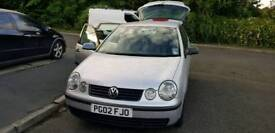 2002 VW polo 1.2 5door 12months MOT