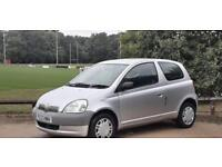 TOYOTA YARIS 1.0L2004 12 MONTH MOT HPI CLEAR CHEAP TO INSURE IDEAL FIRST CAR