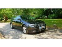 Audi A3 Black 1.9 diesel car for sale