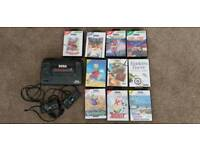 Master System + 9 Games