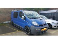 Vauxhall Vivaro Registered Camper Van