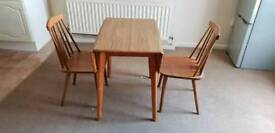 CHEAP extendable table + 2 chairs