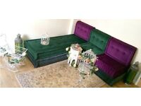 Bespoke Handcrafted Moroccan Sofa Mahjong Bohemian Floor Seating Designed by MoroDeco