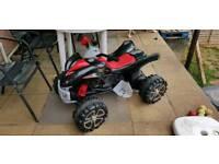 Raptor 12v quad bike