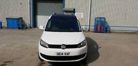 Volkswagen caddy 2014 start line 1.6 tdi 102 bhp with extras