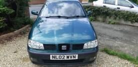 2002 Seat Ibiza S