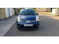 2008 Nissan Note 1.6 16v Tekna 5dr Automatic @07445775115