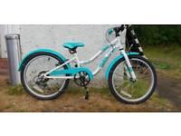 """Apollo Oceana girls bike 20"""" wheel"""