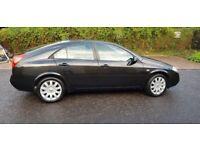 2006 Nissan Primera 1.8 SVE 5dr Manual @07445775116
