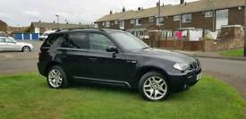Bmw x3 msport black