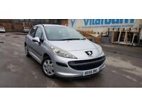 Peugeot 207 s hdi 2007 30 pound road tex mint condition car