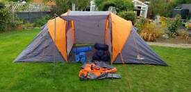 4 man Tent, complete with roll mats and 4 sleeping bags (NOW SOLD)