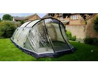 Outwell Cleveland 6 - 6 man tent with footprint, carpet and windbreak