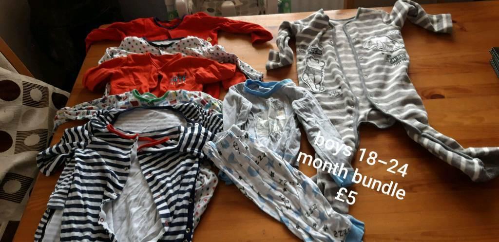 e7d7d96b8ec4 Boys clothing bundles 18-24 months