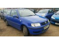 WV POLO 1L PETROL WITH MOT
