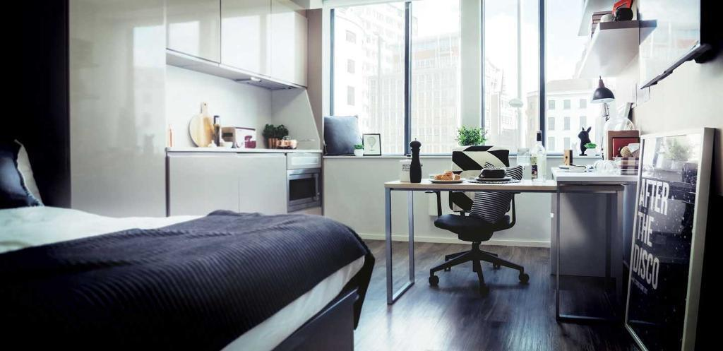 Manchester Luxury Studio Flat For Students Available Vita Student