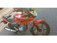 Honda cbf 125 2011 red
