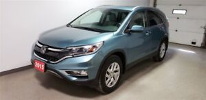 2015 Honda CR-V Touring - Winter tires & alloy rims - Htd Leathe