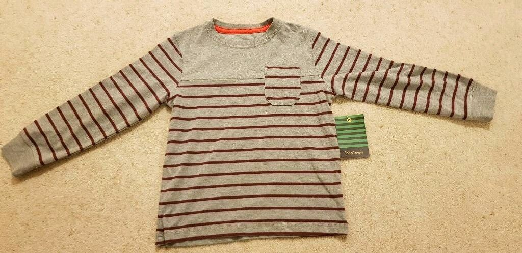 John Lewis age 4 long sleeved t-shirt