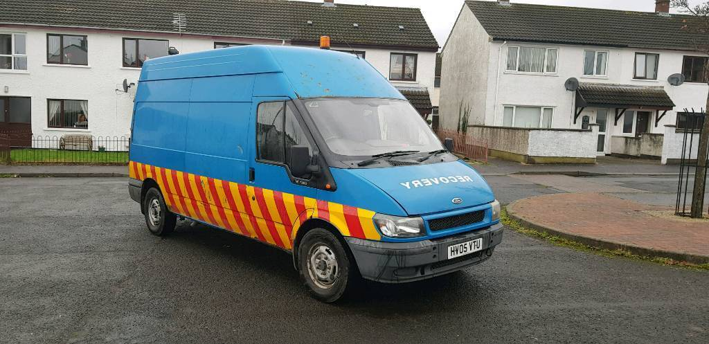 2005 FORD TRANSIT LWB HIGH ROOF RECOVERY VAN KITTED OUT | in Carrickfergus,  County Antrim | Gumtree