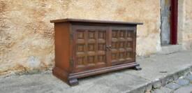 small side board vintage Chestnut Ash Younger Toledo