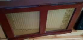 Dark wood Radiator cover
