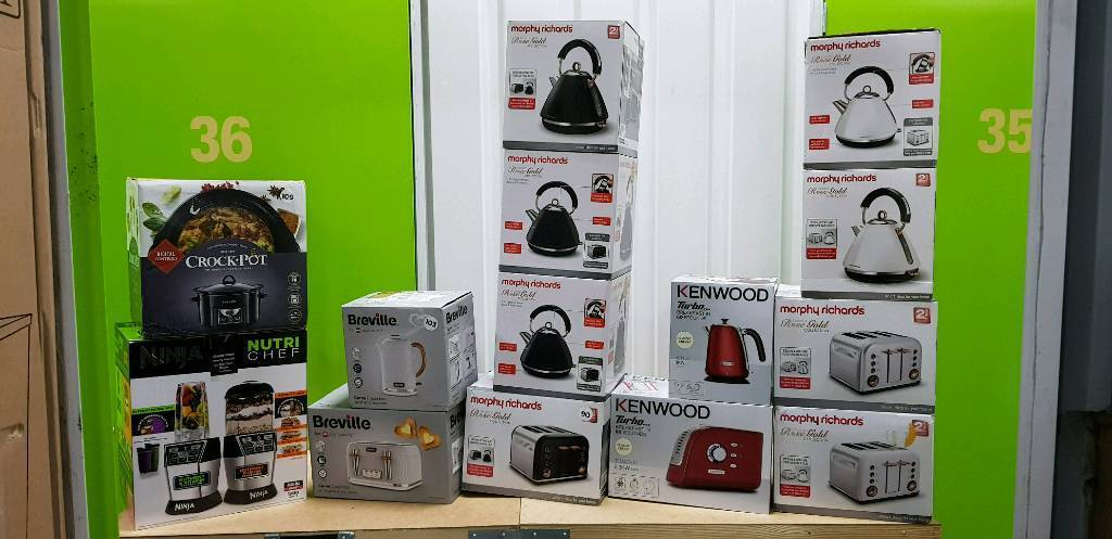Set Of kettles and Toasters