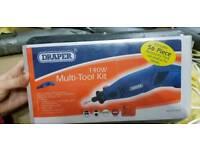 Draper multi tool kit plus hobby tool accessory kit