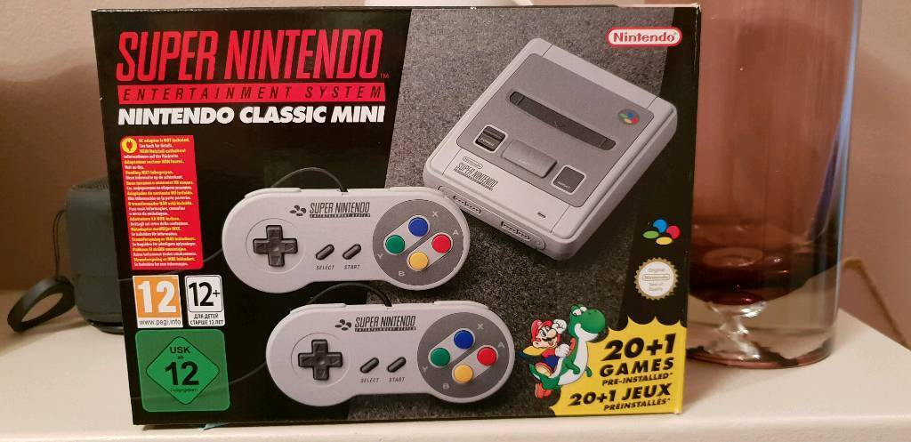 Super Nintendo Classic Mini with Extra Games installed | in Bircotes, South  Yorkshire | Gumtree