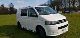 VW t5 campervan 2010.fsh.low miles.hpi clear