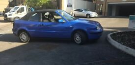 Volkswagen Golf Cabriolet Part exchange for diesel Great runner BARGAIN
