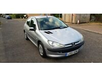 2002 Peugeot 206 1.4 LX 5dr (electric sunroof) Manual @07445775115