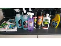 Car cleaning stuff job lot