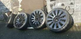 """Alloy wheels with tires 17"""""""