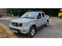 NISSSAN NAVARA DCI OUTLAW 06 2006 DOUBLE CAB