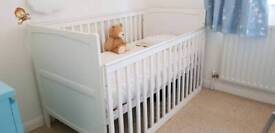 Cot bed three specific levels