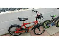 Boys 16 inch bike hardly used