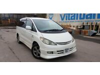 Toyota estima 2.4 petrol automatic 8 seater low millage