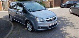 2007 Vauxhall Zafira 1.9 CDTi Design 5dr Automatic @07445775115