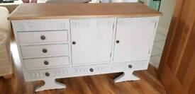 Solid wood sideboard/unit