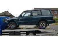 We buy all scrap cars vans 4x4